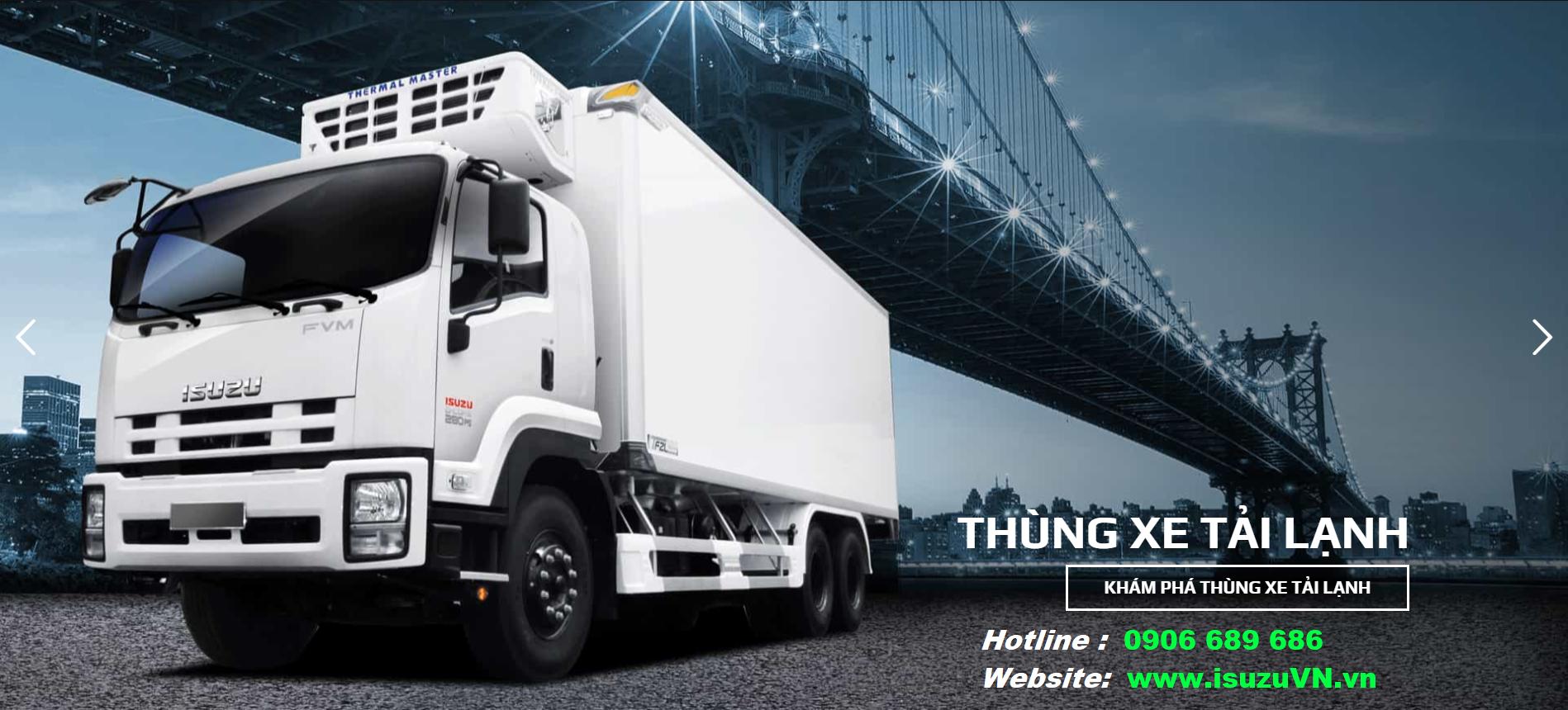 Xe tải thùng đông lạnh Isuzu Quyền Auto (1)