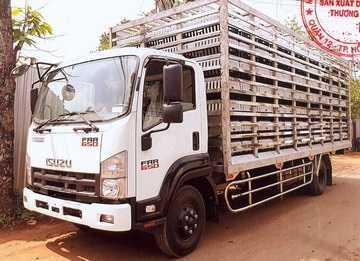 Ô tô chở gia cầm__FRR90NE4__Thùng chở gia cầm có lồng__4990kg (2)